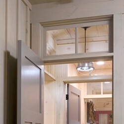find home design and rennovation ideas with an interior transom window over a door