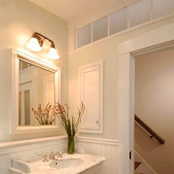 find home design and rennovation ideas with an interior transom window overhead in a wall
