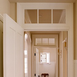 find home design and rennovation ideas with an interior transom window as a replacement window