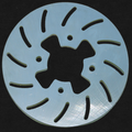 "QRC 7"" Slotted Brake Rotor"
