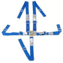 UltraShield Jr 5 Point Harness in Blue sold at KAM Motorsports