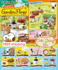 Re-ment Snoopy GARDEN PARTY