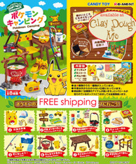 Re-ment Pokemon Camping / Re-ment Pikachu Camping (Sold Out)