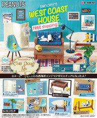 Re-ment Snoopy's West Coast House (Sold Out)