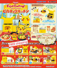 Re-ment Enjoy Cooking! Pikachu Kitchen, with Kitchen DISPLAY
