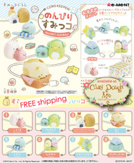 Re-ment Sumikko Gurashi Cord Keeper (ONLY for 3.8 mm thickness or less)