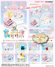 Re-ment Miniatures Little Twin Stars Dolly Room / Re-ment Little Twin Stars Room