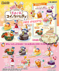 Re-ment Kirby Chef Kawasaki's Sweets Party
