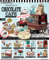 Re-ment Snoopy's Chocolate Cafe (Currently Out of Stock)
