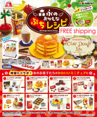 Re-ment Miniatures Morinaga Sweets Recipe, with REAL RECIPE