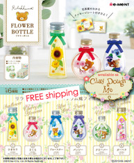 APRIL'19 Re-ment Rilakkuma Flower Bottle