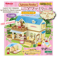 Sylvanian Family Shophouse - Candy Toy by Kabaya, Japan
