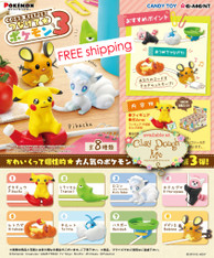 Re-ment Pokemon Cord Keeper Vol.3 (ONLY for 3.8 mm thickness or less)