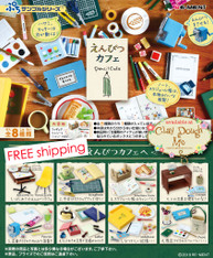 Re-ment Petit Sample Pencil Cafe / Re-ment Stationery