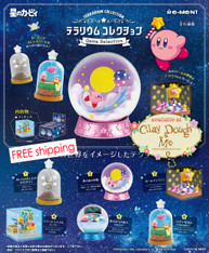 Re-ment Kirby Terrarium - Game Selection / Re-ment Kirby Terrarium 2
