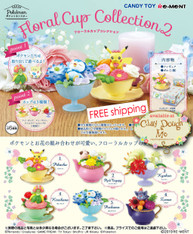 DEC'19 Re-ment Pokemon Floral Cup Collection 2