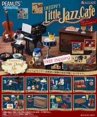 Re-ment Snoopy Little Jazz Cafe