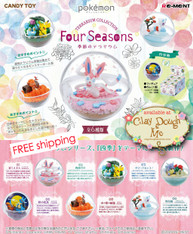 MARCH'20 Re-ment Miniatures Pokemon Terrarium Four Seasons