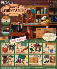 Re-ment Snoopy's Leather Atelier