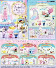 9th NOV Re-ment Sanrio Little Twin Stars TWINKLE PARTY