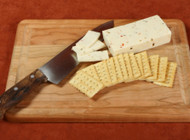 Cutting board also makes a great serving platter