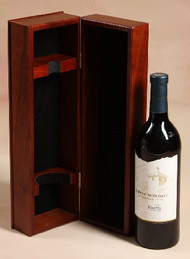 Wooden Wine Box - perfect for storing your favorite bottles or for product packaging.