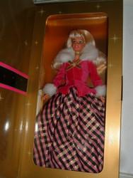 AVON WINTER RHAPSODY BARBIE Special Edition Caucasian Blonde
