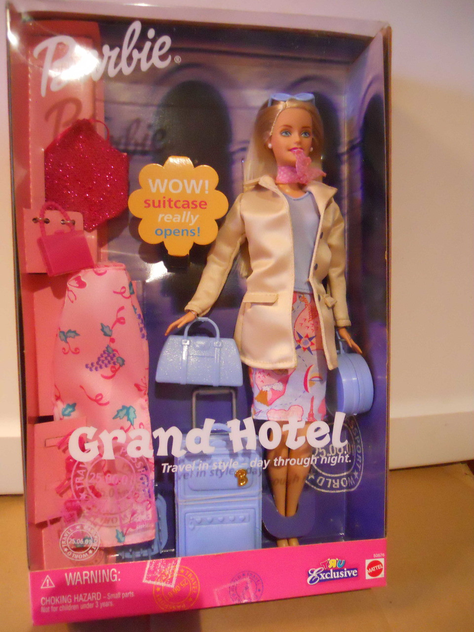 Barbie Grand Hotel Tru Exclusive 2001 Nrfb Decadesgoneb4