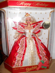 HAPPY HOLIDAYS BARBIE #10 BLONDE COLLECTOR'S CLUB  1997   NRFB