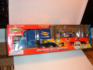 SUNOCO Toy Truck RACING BIKE & TRANSPORTER #13 2006 Collector's Edition  NEW