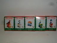 Hallmark MICKEY EXPRESS TRAIN 1998 Set of 5 ornaments