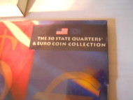 50 STATE QUARTERS & EURO COIN COLLECTION  US MINT