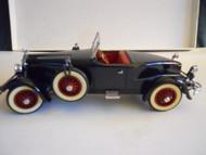 Danbury Mint Diecast Car 1927 STUTZ BLACK HAWK  1:24 scale NO Box