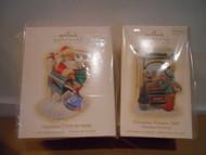 Hallmark CLUB MEMBERSHIP ORNAMENTS KOCC 2009 Christmas Window & Cards for Santa