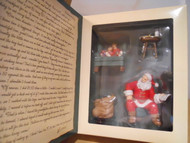 Hallmark CLUB MEMBERSHIP ORNAMENTS KOCC 2002 Santa's Big Night