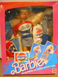 PEPSI SPIRIT BARBIE 1989