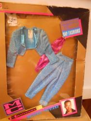 M.C. HAMMER RAP Fashions 1991 Blue