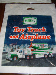 HESS Toy Truck 2002 BAG ONLY Toy Truck and Airplane