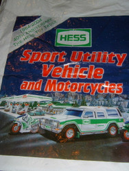 HESS Toy Truck 2004 BAG ONLY Sport Vehicle and Motorcycles