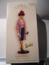 HALLMARK Barbie ROMAN HOLIDAY Ornament 2007 #14
