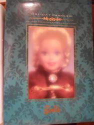 BARBIE HOLIDAY CAROLER Porcelain 1996 Numbered Edition NRFB
