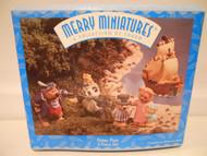 Hallmark Merry Miniatures PETER PAN Set of 5