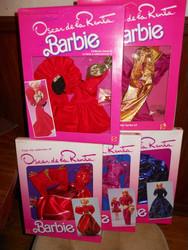 Barbie OSCAR DE LA RENTA Series 5 fashions