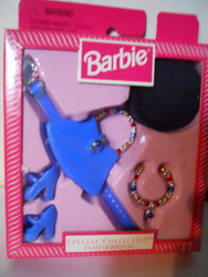 BARBIE Special Collection TOTALLY CHARMED ACCESSORIES 1999 Blue