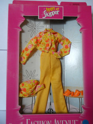 Barbie TEEN SKIPPER Fashion Avenue Yellow Citrus 18379 1997