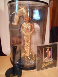 GOLD BARBIE  BOB MACKIE #1  1990 NRFB