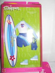 Barbie SKIPPER STYLES Fashion Avenue MALIBU SURF CAMP 2000 25753