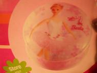 Barbie PORCELAIN MUSICAL JEWELRY BOX 2001 by Kreisler