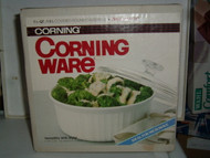 CORNINGWARE BAKING DISH W/ LID 1 1/2 QT Round French White