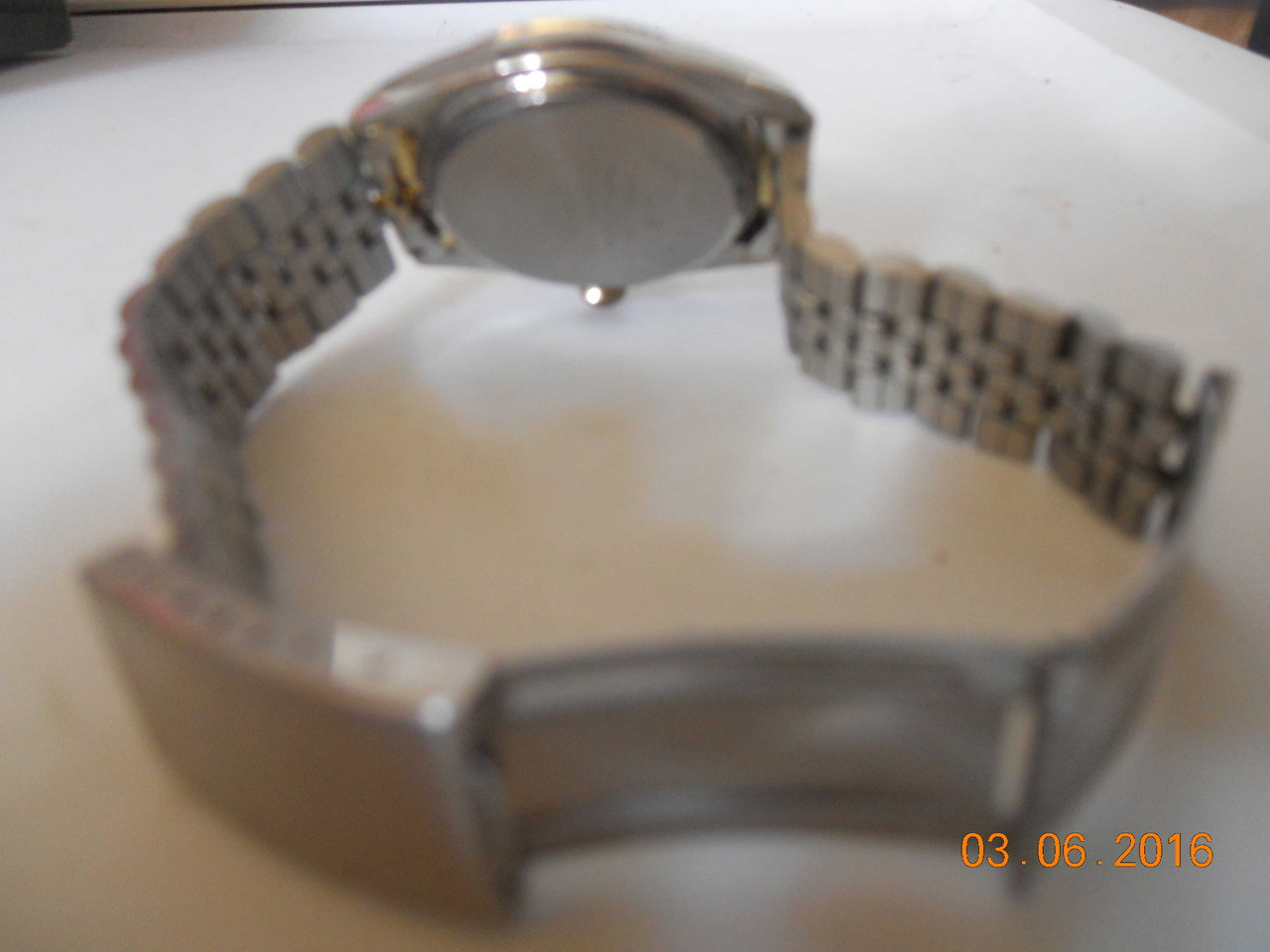 90d9622bbeb6 Men s SERGIO VALENTE WATCH Stainless   Gold tones w  Diamond chip ...